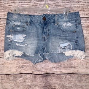 American Eagle outfitters denim shorts - s…